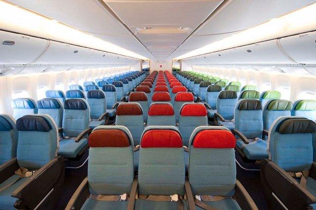 Kelas ekonomi Turkish Airlines